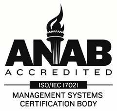 H. Cross Company is ANAB Accredited