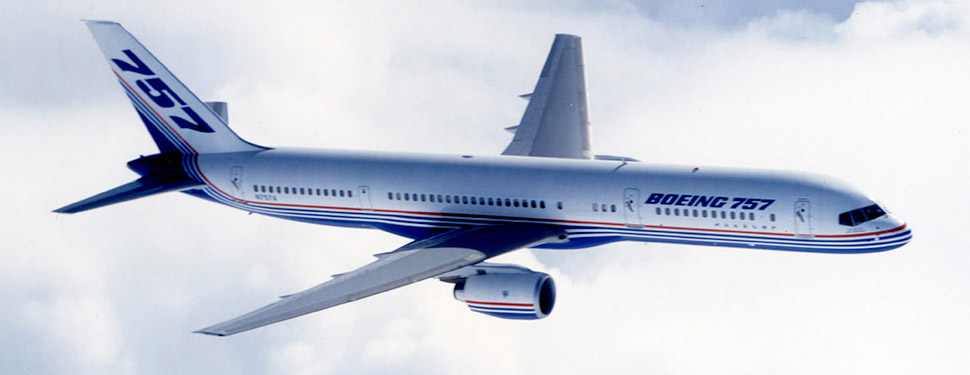 Commercial Applications Aerospace Boeing-757