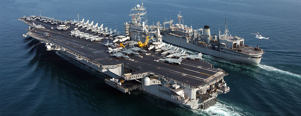 Naval Military Application Nimitz-class aircraft carrier