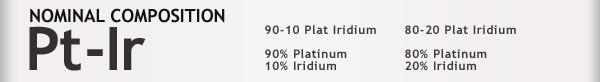 Platinum/Iridium - H. Cross Company